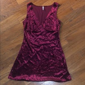 LF Emma & Sam Red Velvet Dress